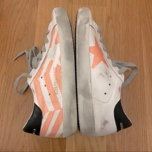 Golden Goose Flag LowTop Private Edition Sneakers